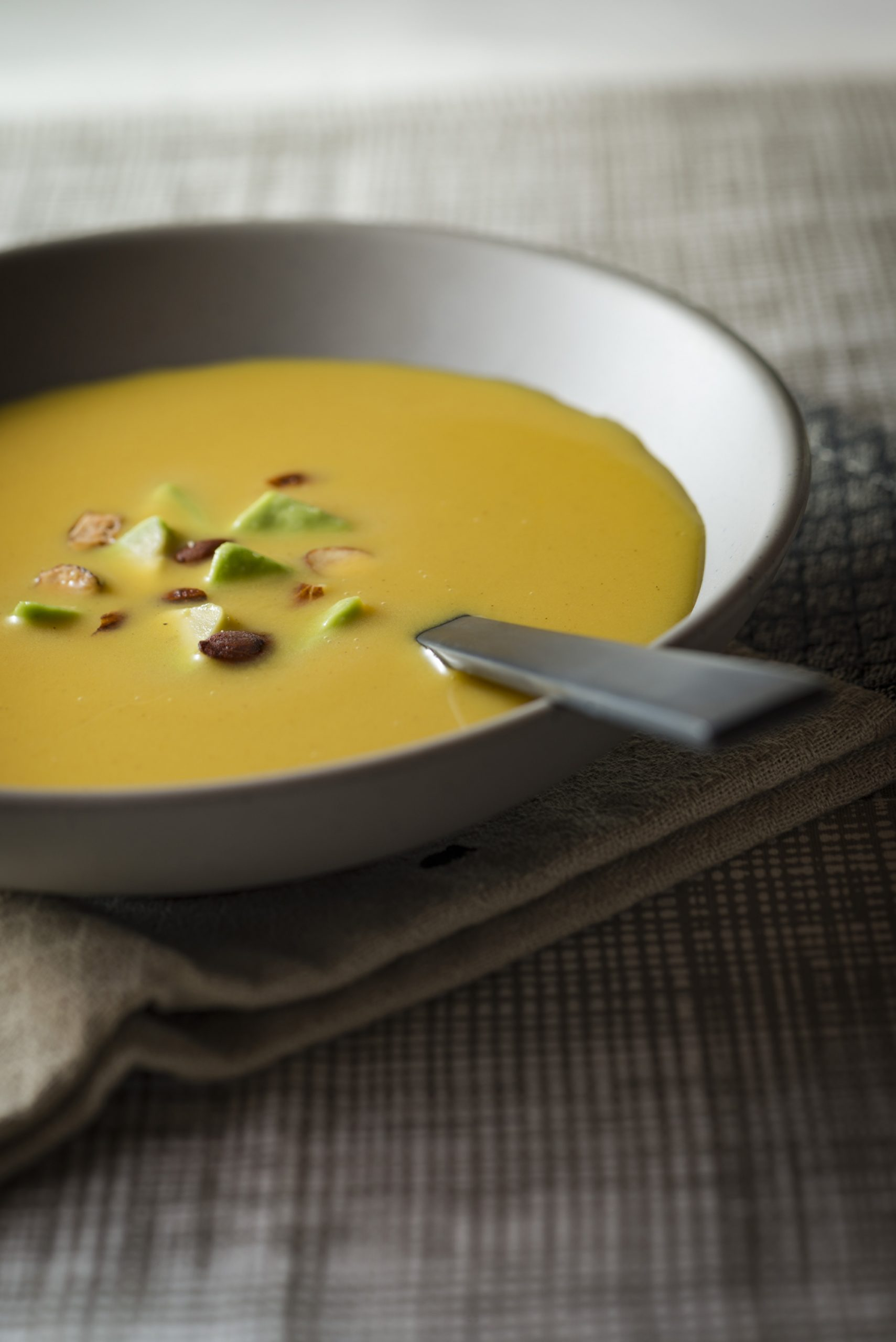 Savory soup is made for autumn